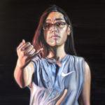"""""""Sam"""" 24 x 18, Oil on Canvas"""