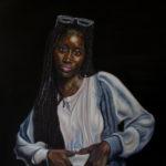 """""""Chavene"""" 24 x 18, Oil on Canvas"""