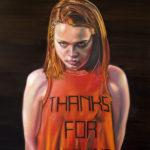 """""""Elizabeth"""" 24 x 18, Oil on Canvas"""