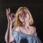 """""""Lauren"""" 24 x 18, Oil on Canvas"""