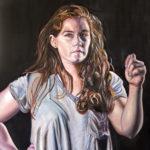 """""""Melissa"""" 24 x 18, Oil on Canvas"""