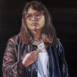 """Maria"" 24 x 18, Oil on Canvas"